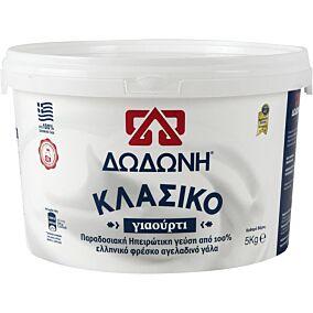 Γιαούρτι ΔΩΔΩΝΗ Κλασικό 8% λιπαρά (5kg)