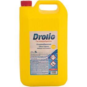 Χλωρολευκαντικό DROLIO Ultra με άρωμα λεμόνι (5lt)