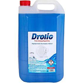 Λαμπρυντικό DROLIO ΓΙΑ ΕΠΑΓΓΕΛΜΑΤΙΕΣ πλυντηρίου πιάτων (5lt)