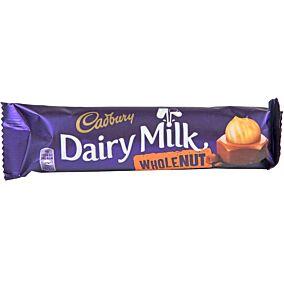 Σοκολάτα CADBURY Dairy Milk γάλακτος με ολόκληρα φουντούκια (45g)