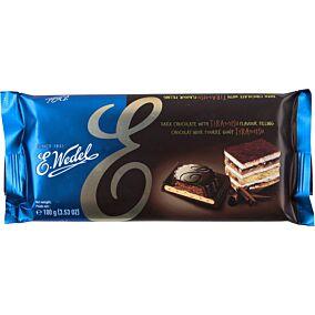 Σοκολάτα E.WEDEL γάλακτος με γέμιση τιραμισού (100g)