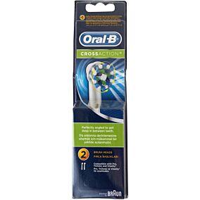 Ανταλλακτικά ORAL B cross action ηλεκτρικής οδοντόβουρτσας (2τεμ.)
