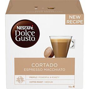 Καφές NESCAFÉ dolce gusto cortado σε κάψουλες 16τεμ. (101g)