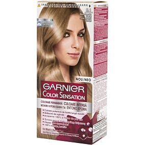 Βαφή μαλλιών GARNIER color sensation ξανθό ανοιχτό σαντρέ no.8.1 (40ml)