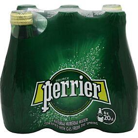 Νερό PERRIER φυσικό μεταλλικό ανθρακούχο (6x200ml)