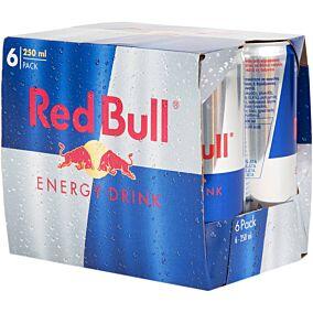 Ενεργειακό ποτό RED BULL energy (6x250ml)