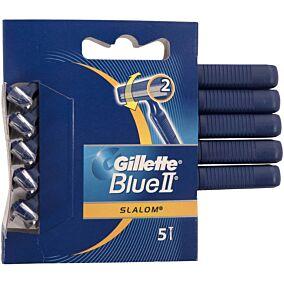 Ξυραφάκια GILLETTE blue ii slalom μιας χρήσης (5τεμ.)