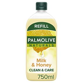 Κρεμοσάπουνο PALMOLIVE γάλα-μέλι, ανταλλακτικό (750ml)