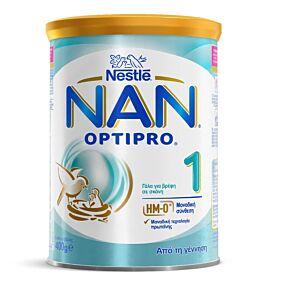 Γάλα σε σκόνη NESTLE NAN Optipro 1 για παιδιά 1ης βρεφικής ηλικίας (400g)