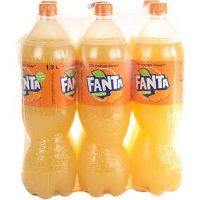 Αναψυκτικό FANTA πορτοκαλάδα (6x1,5lt)