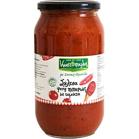 Σάλτσα ΚΩΣΤΟΠΟΥΛΟΣ με ψητές πιπεριές και τομάτες (1kg)