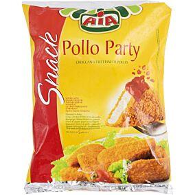 Κοτόπουλο πανέ AIA φιλετίνια κατεψυγμένα Ιταλίας (1kg)