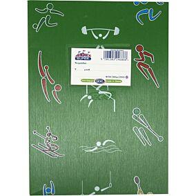 Τετράδιο SKAG πράσινο 50φύλλων