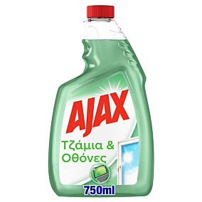 Καθαριστικό τζαμιών AJAX αντιστατικό ανταλλακτικό (750ml)