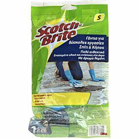 Γάντια SCOTCH-BRITE κουζίνας heavy duty, small (1τεμ.)