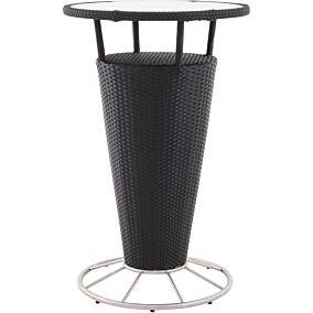 Τραπέζι RESORT LINE μπαρ, αλουμίνιο συνθετικό rattan Φ70