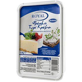 Τυρί κρέμα ROYAL 70% λιπαρά (1,5kg)