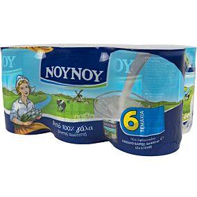 Γάλα ΝΟΥΝΟΥ εβαπορέ πλήρες (6x400ml)