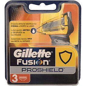 Ανταλλακτικά ξυραφάκια GILLETTE FUSION proshield(3τεμ.)