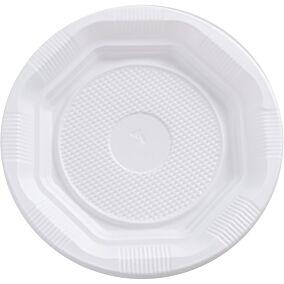 Πιάτα MELODY TIME PS πλαστικά λευκά 17cm (50τεμ.)