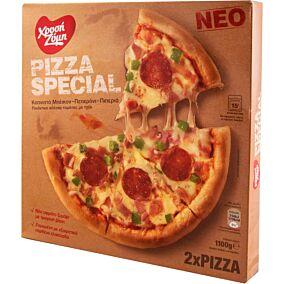 Πίτσα ΧΡΥΣΗ ΖΥΜΗ special κατεψυγμένη (2x550g)