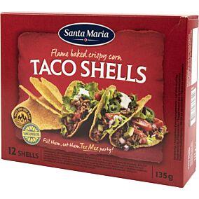 Taco SANTA MARIA shells (135g)