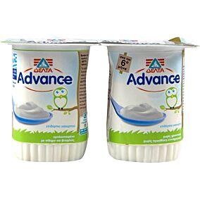 Γιαούρτι επιδόρπιο ADVANCE βρεφικό (2x150g)