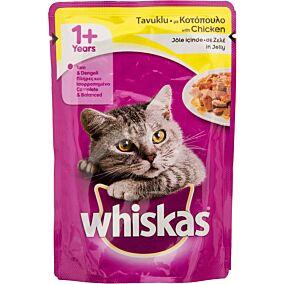 Τροφή WHISKAS γάτας fresh pack με κοτόπουλο (100g)