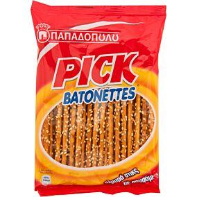 Σνακ ΠΑΠΑΔΟΠΟΥΛΟΥ PICK BATONETTES (100g)