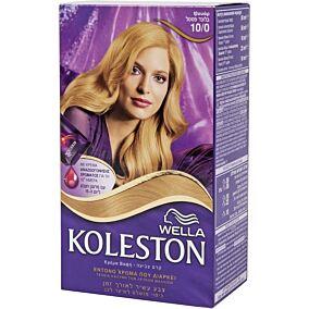 Βαφή μαλλιών WELLA Koleston ιβουάρ no.10/0 με κρέμα αναζωογόνησης χρώματος (50ml)