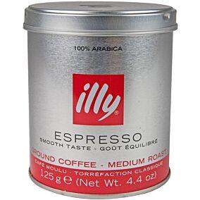 Καφές ILLY espresso normal αλεσμένος (125g)