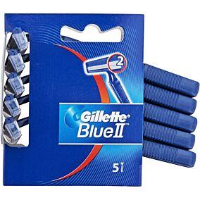 Ξυραφάκια GILLETTE blue ii fixed μιας χρήσης (5τεμ.)