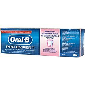Οδοντόκρεμα ORAL B pro expert sensitive & whitening (75ml)