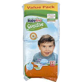 Πάνες BABYLINO Sensitive No.7, 17kg+ (38τεμ.)