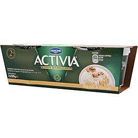 Γιαούρτι ACTIVIA με καρύδι και βρώμη (2x200g)