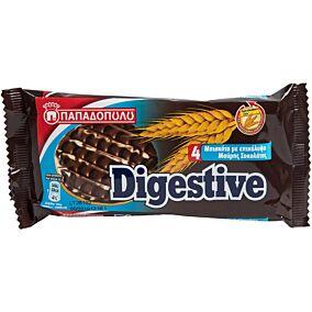 Μπισκότα ΠΑΠΑΔΟΠΟΥΛΟΥ digestive με μαύρη σοκολάτα (67g)