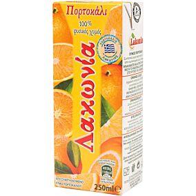Φυσικός χυμός ΛΑΚΩΝΙΑ πορτοκάλι (250ml)