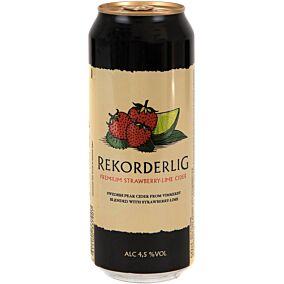 Μπύρα REKORDERLIG strawberry and lime (500ml)