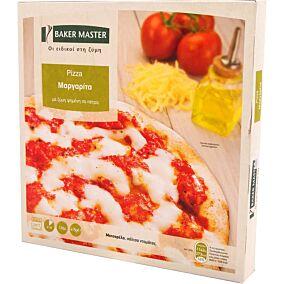 Πίτσα BAKER MASTER μαργαρίτα με μοτσαρέλα και σάλτσα ντομάτας (415g)