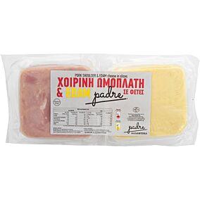 Ζαμπόν και τυρί edam PADRE χοιρινή ωμοπλάτη σε φέτες (1kg)