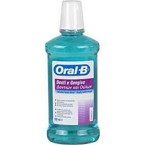 Στοματικό διάλυμα ORAL B δοντιών και ούλων (500ml)