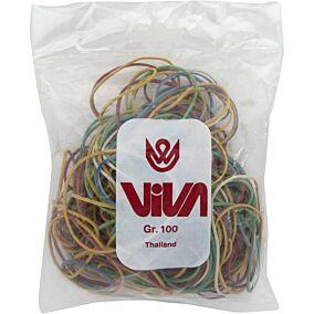 Λάστιχο VIVA σε διάφορα χρώματα, μεγάλο 100g