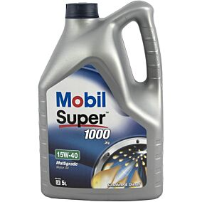 Ορυκτέλαιο MOBIL super (5lt)