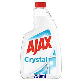 Καθαριστικό τζαμιών AJAX Crystal Clean ανταλλακτικό (750ml)