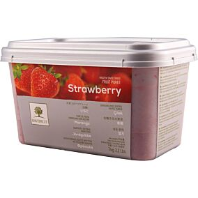 Πουρές φράουλα 90% RAVIFRUIT (πούλπα) κατεψυγμένος (1kg)