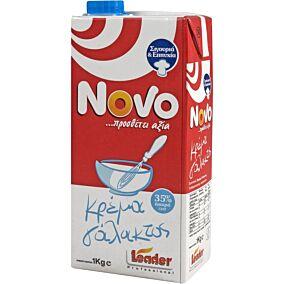 Κρέμα γάλακτος NOVO 35% λιπαρά (1lt)