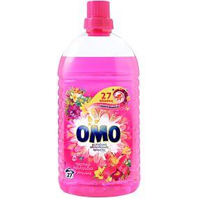 Απορρυπαντικό OMO τροπικά λουλούδια και ylang ylang πλυντηρίου ρούχων, υγρό (27μεζ.)