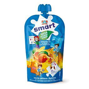Φυσικός χυμός ΔΕΛΤΑ Smart ροδάκινο, βερίκοκο (200ml)