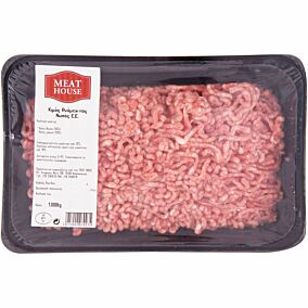 Βόειος - χοιρινός κιμάς MEAT HOUSE νωπός σε συσκευασία προστατευτικής ατμόσφαιρας (1kg)