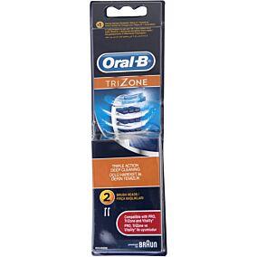 Ανταλλακτικά ORAL B trizone ηλεκτρικής οδοντόβουρτσας (2τεμ.)